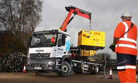 Selwood has ordered five new rigids with cranes.