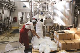 The beverage-production process in Dunaharaszti involves the facility receiving constant shipments of different consignments of raw materials and components such as sugar, concentrates, bases and syrups.