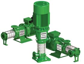 Rovatti's latest generation of horizontal and vertical multistage electric pumps.