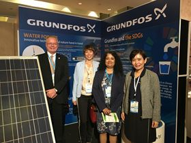 The Grundfos team at the Ninth Regional 3R Forum in Asia and the Pacific.