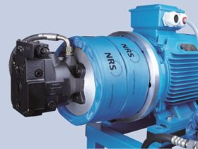 Raja-Lovejoy's newly developed NRS system cuts noise emissions from hydraulic equipment.
