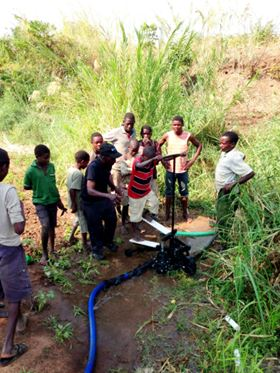 Xylem's Saajhi Stepping Pump in the field