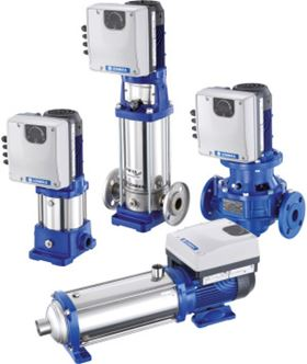 Xylem's Lowara Smart Pump range is equipped with built-in ultra-premium efficiency IE5 permanent magnet motors to achieve optimal performance in water supply and HVAC applications for commercial buildings.