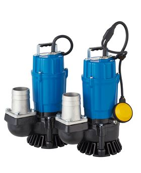 Tsurumi's new portable drainage pumps have a maximum capacity of 580 l/min and maximum head of 10.8 m3/min of drainage capability.