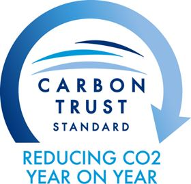 Mono has been awarded the Carbon Trust Standard