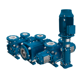 The e-MP is a multistage ring section pump designed for high-pressure applications.