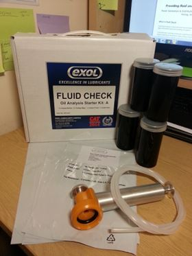Fluid Check gives a rapid and clear picture of the quality of fluid.