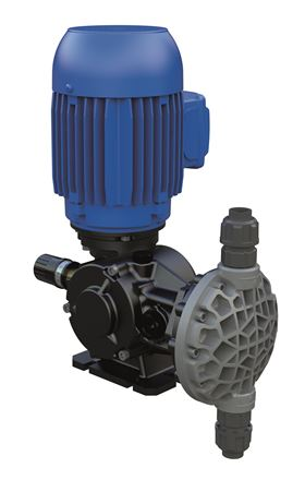 The AVS device is integrated into the Spring MS1 mechanical diaphragm dosing pump.