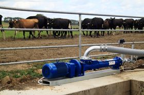 Qubik effluent irrigation pump.
