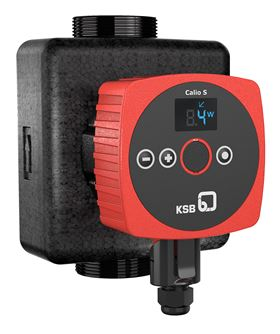 The KSB Group will be presenting its advanced Calio S circulators at ISH 2019. (Image: KSB)