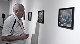 The historical photos were part of a special exhibit at the Darling Foundry Art Center in Montreal, Canada.