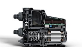 The Grundfos SCALA2 domestic booster pump offers constant water pressure, regardless of municipal inlet pressure and multiple open taps.