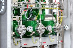 LEWA Smart Control guarantees metering accuracy. The controller handles this by carrying out a variance analysis and then instantly adjusting the flow rate as necessary. (image: LEWA GmbH)