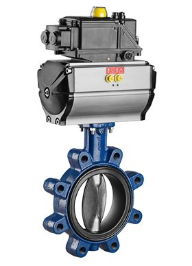 The ISORIA butterfly valves are now available with an oil-resistant liner for food applications. (Image: KSB)