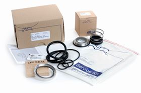 The service kits contain all the necessary spare parts to tackle breakdowns, repairs and scheduled preventive maintenance.