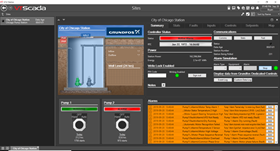 With the latest VTScada release and integration of Trihedral's HMI software into the Grundfos Tag and Screen Builder, operators can plug in Grundfos monitoring and control devices and VTScada does the rest.