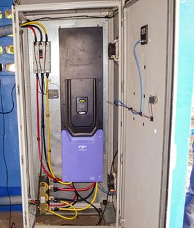 The Optidrive P2 VFD has replaced a start-stop transformer-based pump control system in Nicaragua.