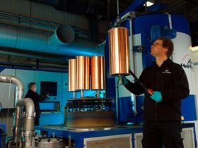 Loading the Hardide coating reactor at the company's UK coating facility in Bicester, Oxfordshire.