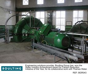 Boulting won for their upgrade of the Littleton Raw Water Pumping Station (RWPS).