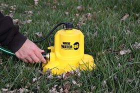 WAYNE Pumps' WWB WaterBUG Submersible Water Removal Pump with Multi-Flo Technology. (Photo: Businesswire)