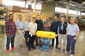 The Energy Recovery team celebrates the shipment of the 20,000 PX