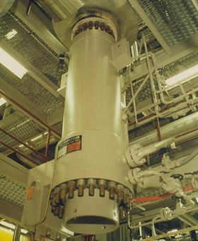 Hayward Tyler Service Division (HTS) completed the onsite mechanical and electrical overhaul, including a stator rewind, of two BCPs in just 35 days – normally, a single BCP4 overhaul would take around 40 days.