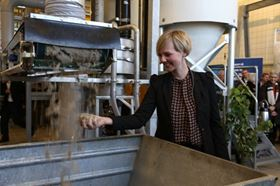 Ida Auken,  Denmark's environment minister opens the project which is based in Aarhus