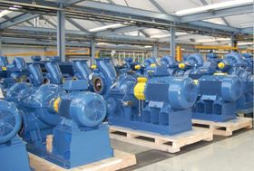 Andritz Ritz is supplying 121 pumps and 18 booster stations for a new drinking water treatment station in Samawa, Iraq. Photo: Andritz.