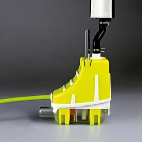 The new Silent+ Mini Lime from Aspen Pumps is suitable for high wall split systems.