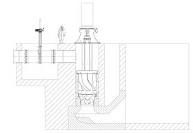 Fig. 2. The general arrangement of the pump.
