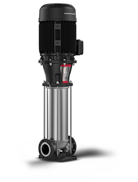 The new generation of Grundfos CR vertical multi-stage centrifugal in-line pumps.
