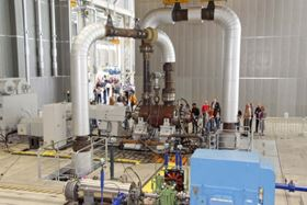 KSB officially opens its new production and test facility for large power station pumps in Frankenthal
