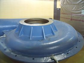 Figure 3. The 38 ton pump has an impeller diameter of 1,905 mm. (Image: KSB )