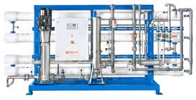 The MegaRO Mk2 from Veolia produces up to 30 m3/h of high purity water.
