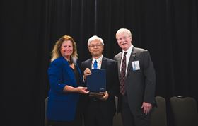 The award was presented at the recent ASME-JSME-KSME Joint Fluids Engineering Conference (AJK Fluids) 2019 in San Francisco, USA.