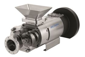 The HYGHSPIN H operates at low speeds of up to 400 rpm and can handle a wide range of products