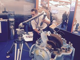 SPP Pumps' Engineering Services showcases latest laser scanner at OE 2015