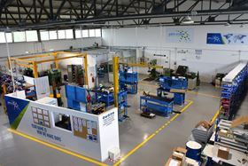 Inside John Crane's new service centre in Livorno.
