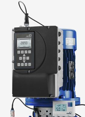 KSB will show its new PumpDrive for the first time at Hanover Messe 2014.