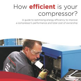 The guide highlights the common issues that can reduce a compressor's overall efficiency.