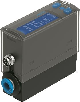 Festo's new SFAH flow sensor monitors compressed air usage in general automation applications.