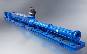 NOV Mono has designed and manufactured its largest ever W Range progressing cavity pumps.
