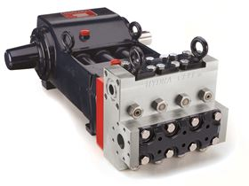 The Hydra-Cell T100 is now available with corrosion-resistant 316L stainless steel pump heads.