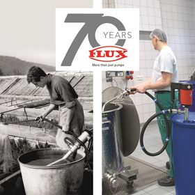 Flux-Geräte is celebrating 70 years since it invented the first electric drum pump.