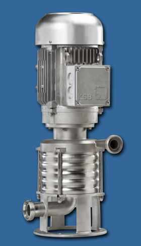 Vitastage is KSB's new pump series for hygienic applications.