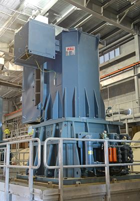 Vertical gearmotors are optimal for pumping  their smaller physical size reduces the footprint, while bringing the advantages of low-pole motor efficiency and power factor, and greater reliability.