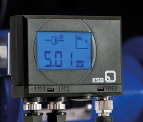 PumpMeter continuously analyses the pump operating data, establishes a load profile, and makes the operator aware of energy saving potential. ©KSB Aktiengesellschaft, Frankenthal