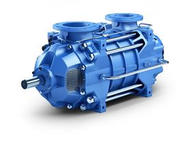 In the Wala and Lib pumping stations, in addition to the multi-stage, axial split case pumps ANDRITZ high pressure pumps from the HP43 series are also installed. Due to their high efficiency, they have a strictly ecological orientation.