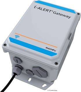 ITT's new i-ALERT Gateway which offers continuous machine monitoring with wireless reporting will be on display.