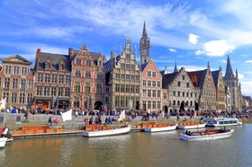 Ghent. Image courtesy of Inu/Shutterstock.